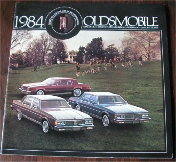 OLDSMOBILE 1984 BROCHURE NINETY EIGHT REGENCY DELT
