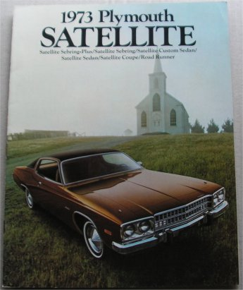PLYMOUTH 1973 SATELLITE BROCHURE ROAD RUNNER