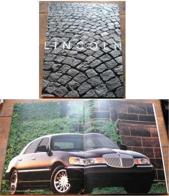LINCOLN TOWN CAR 2002 SALES BROCHURE