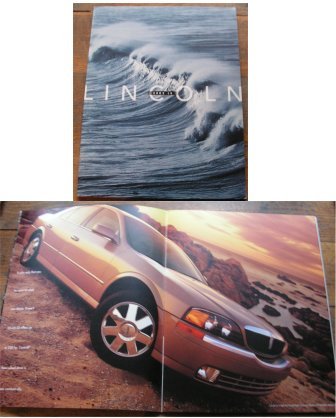 LINCOLN LS 2002 SALES BROCHURE