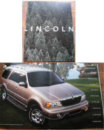LINCOLN NAVIGATOR 2002 SALES BROCHURE