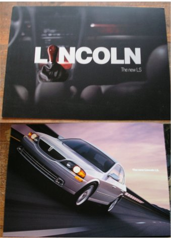 LINCOLN LS 1999 SALES BROCHURE