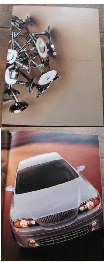 LINCOLN LS 2002 PRESTIGE SALES BROCHURE