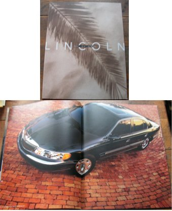 LINCOLN CONTINENTAL 2001 PRESTIGE SALES BROCHURE