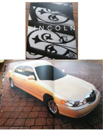 LINCOLN TOWN CAR 2001 PRESTIGE SALES BROCHURE