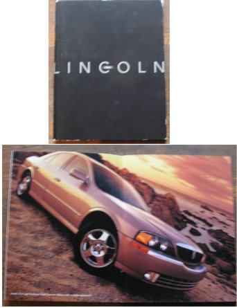 LINCOLN 2001 BROCHURE NAVIGATOR BLACKWOOD CONTINEN