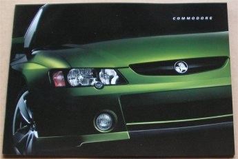 COMMODORE VY 2002 nov S SS SV8 EXEC ACCLAIM BROCHURE