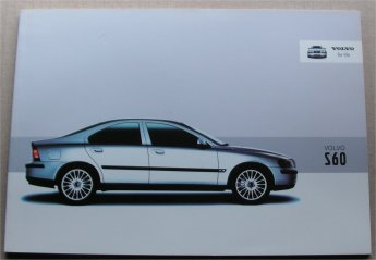 VOLVO S60 2003 SALES BROCHURE