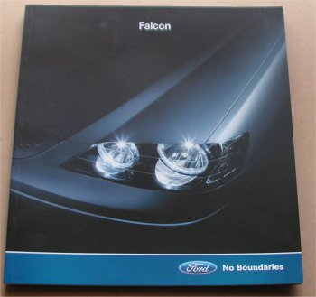 BA FORD FALCON 2002 2003 XR6 XR8 36PAGE BROCHURE