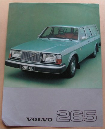 VOLVO 265 1977 SALES BROCHURE
