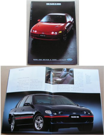 EF FORD FALCON 1996 XR6 XR8 EF 32 PAGE SALES BROCHURE