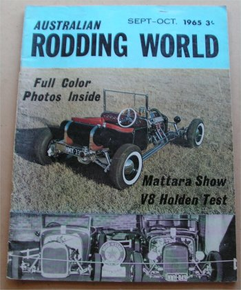 AUSTRALIAN RODDING WORLD 1965 SEPTEMBER OCTOBER