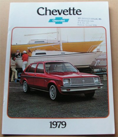 CHEVROLET CHEVETTE 1979 SALES BROCHURE
