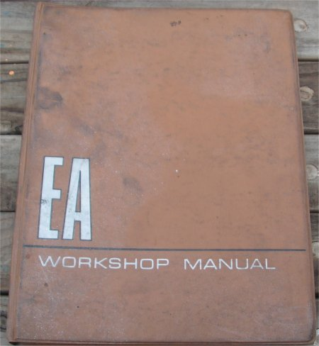 BMC EA 350 420 1968 VANS WORKSHOP MANUAL