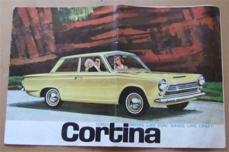 FORD CORTINA 1962 1963 CORTINA SALES BROCHURE