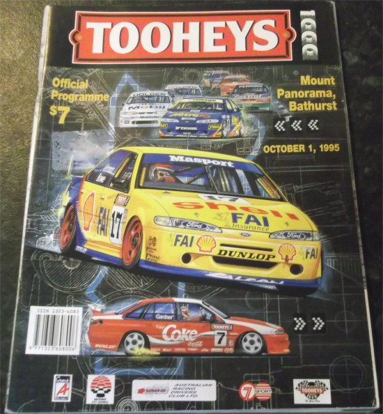 BATHURST 1995 RACE PROGRAM