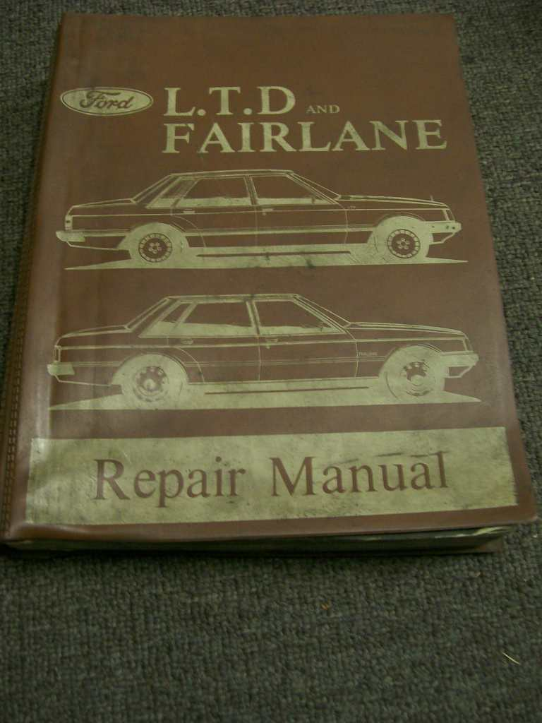 FORD FAIRLANE ZJ LTD FC 302 351 LIKE XD REPAIR WORKSHOP MANUAL
