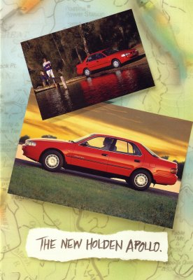 HOLDEN APOLLO 1995 1996 SALES BROCHURE