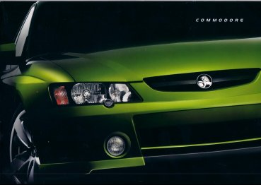 COMMODORE VY 2003 SALES BROCHURE SS SV8