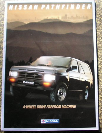 NISSAN PATHFINDER 1988 SALES BROCHURE