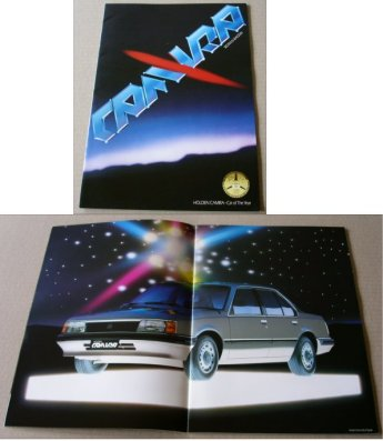 HOLDEN CAMIRA 1983 SALES BROCHURE