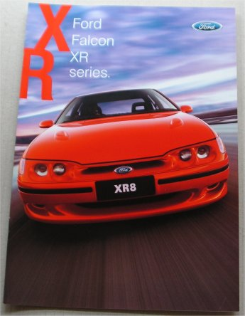 EL FALCON 1997 1998 EL XR6 XR8 SERIES2 185KW NEW NOS BROCHURE