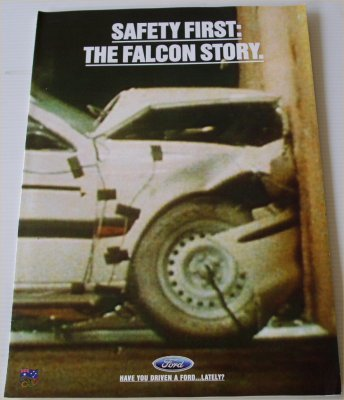 FORD 1995 SAFETY FIRST SALES BROCHURE FALCON EF