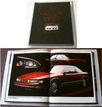OLDSMOBILE 1988 CUTLASS SUPREME SALES BROCHURE