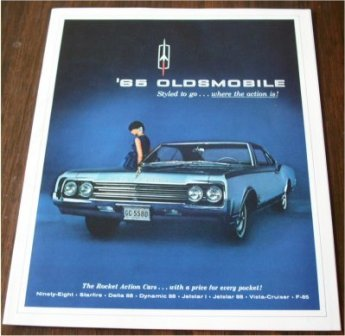 OLDSMOBILE 1965 SALES BROCHURE