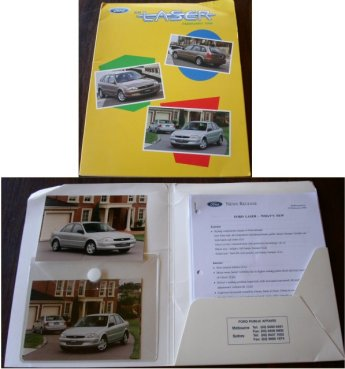 FORD LASER 1999 KN PRESS RELEASE