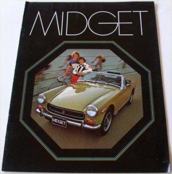 Mg midget brochure