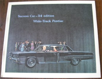 PONTIAC 1964 BROCHURE BONNEVILLE GRAND PRIX  CATAL