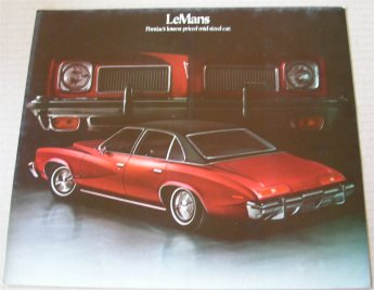 PONTIAC 1973 LEMANS SALES BROCHURE