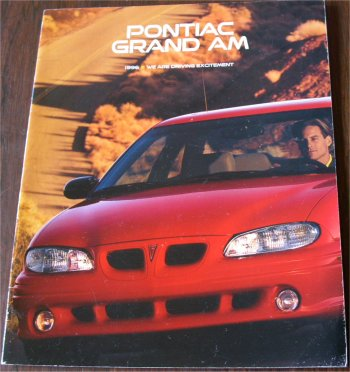 PONTIAC GRAND AM 1996 SALES BROCHURE