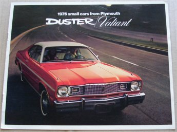 PLYMOUTH DUSTER VALIANT 1976 SALES BROCHURE