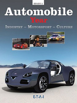 AUTOMOBILE YEAR 2010 2011 ANNUAL #58 BRAND NEW IN PLASTIC