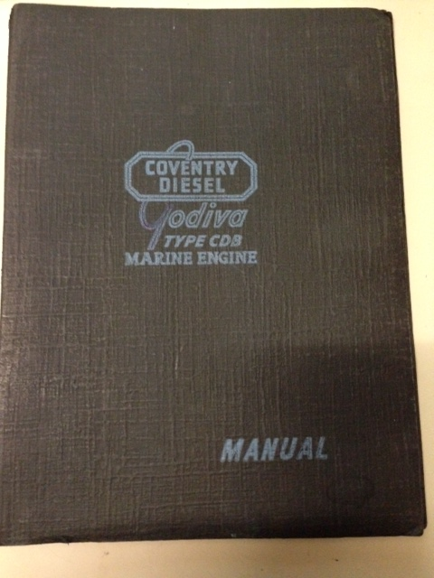 COVENTRY CLIMAX GODIVA CDB ENGINE & MRF11A GEARBOX MANUAL