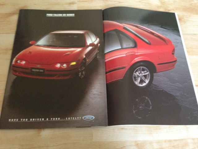 EF FORD FALCON 1994 XR8 XR6 UTE WAGON SEDAN BROCHURE NOS