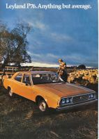 LEYLAND P76 1973 1974 SALES BROCHURE ANYTHING BUT AVERAGE