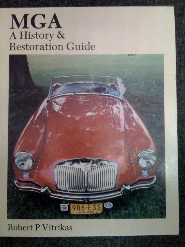 MGA HISTORY & RESTORATION BOOK BY R VITRIKAS