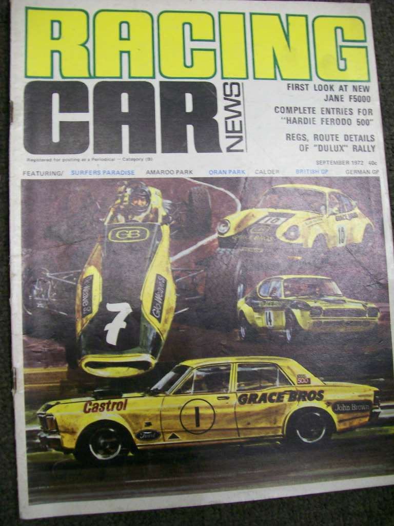 RACING CAR NEWS 1972/09