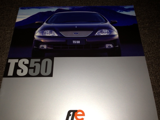 AU FALCON TICKFORD TS50 1999 PRESTIGE LARGE BROCHURE FPV
