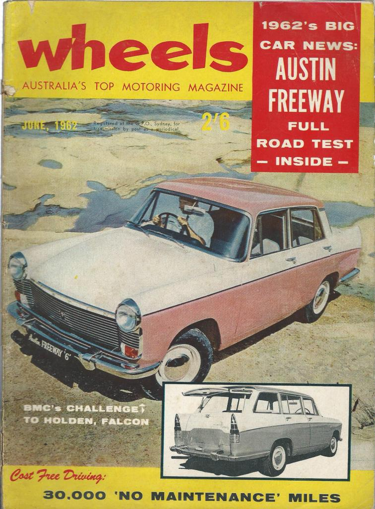 WHEELS 1962/06 AUSTIN FREEWAY HERALD MINI VAUXHALL VICTOR