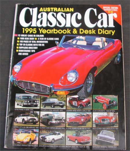 AUSTRALIAN CLASSIC CAR 1995 YEARBOOK TORANA GTR-X