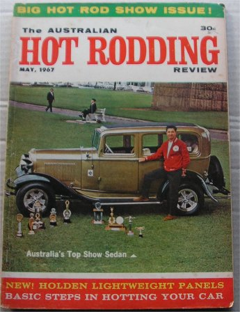 AUSTRALIAN HOT RODDING REVIEW 1967/05