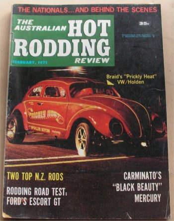 AUSTRALIAN HOT RODDING REVIEW 1971/02