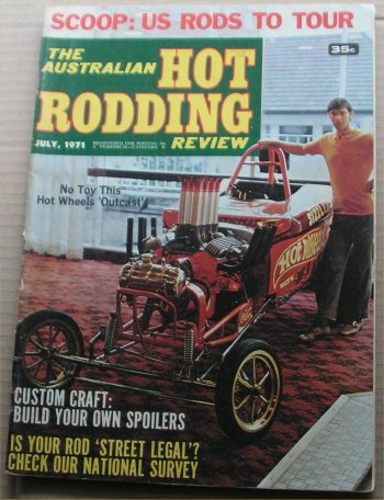 AUSTRALIAN HOT RODDING REVIEW 1971/07