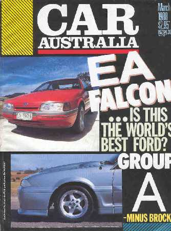 CAR 1988/03 FALCON EA COMMODORE VL HSV GROUP A SS WALKY