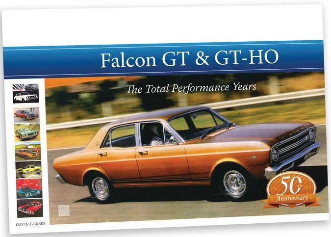 FALCON GT & GTHO History by Farmer now in stock new release