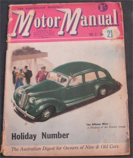 MM 1947/12 JEEP WAGON ALLARD